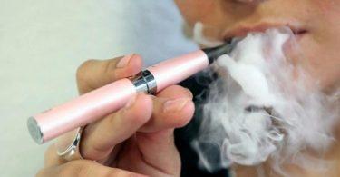 cigarrillo electrónico consumo de tabaco