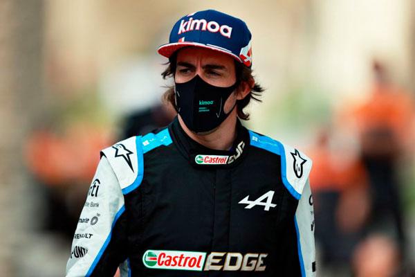 Alonso en Alpine